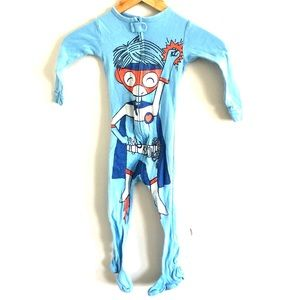 Gap Super Boy Footed Pajamas